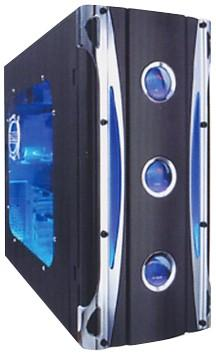 Lcd Atx Computer Pc Case Display Lcd Mode Mid Tower Oem