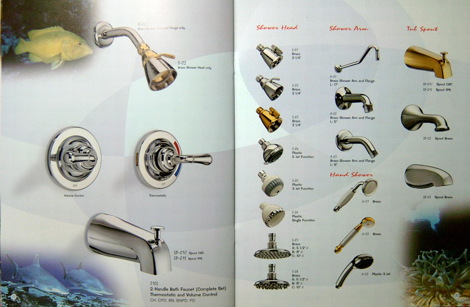 Famous Different Types Of Shower Heads Pictures Inspiration ...